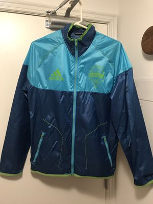 Seattle Sounders Adidas jacket for Sale in Seattle, WA