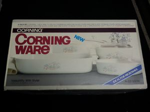 4 new boxes of corning ware from the 80s for Sale in Chino, CA