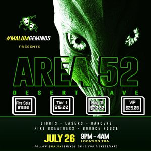 AREA 52 AFTER PARTY RAVE COME JOIN US FOR A NIGHT OUTTA THIS WORLD for Sale in Henderson, NV