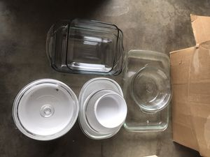 Assorted Glass Baking/Cooking Pans for Sale in Montebello, CA