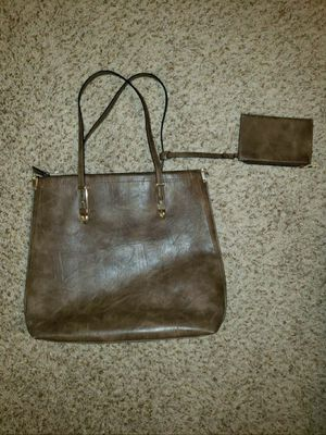 brown leather purse for Sale in Richmond, TX