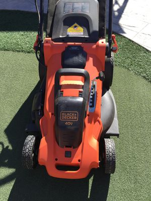 Black and Decker electric lawn mower for Sale in Chula Vista, CA