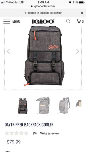 Igloo day tripper cooler backpack for Sale in Bakersfield, CA