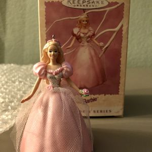 1996 Springtime Barbie Doll Hallmark Ornament Collector's Series 2nd in Series for Sale in Corona, CA