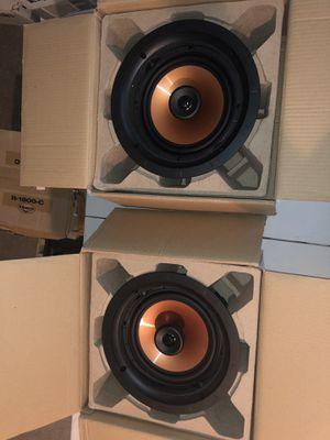 2 Klipsch CDT-3800-C II in ceiling speakers for Sale in Denver, CO