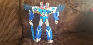 "11"" Optimus Prime Power Surge with Aerobolt Mini Con (lights and talking) for Sale in Broadlands, VA"