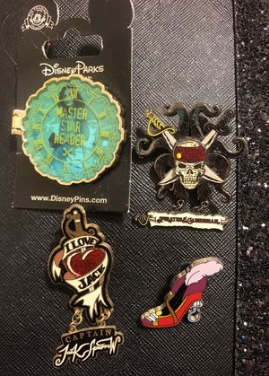 Pirates Disney Pins for Sale in Greenville, SC