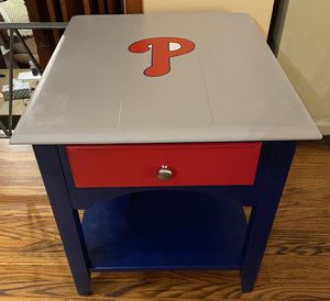 Phillies end/ side table for Sale in Blue Bell, PA