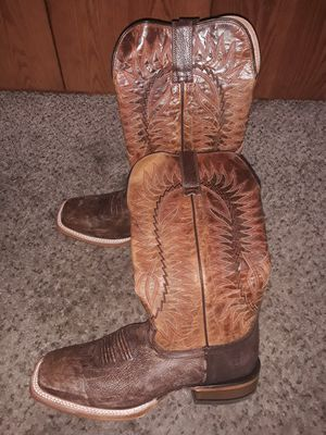 Brand New Mens Work Cowboy boots Botas ARIAT Relentless ELITE corral Size 10 for Sale in Scottsdale, AZ