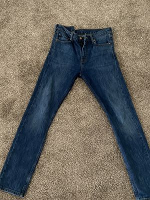 Men's levis 510 skinny jeans 30x32 for Sale in San Jose, CA