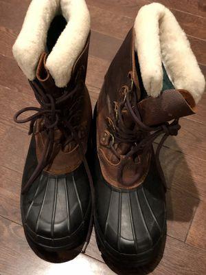 Men Boots shoe-Polo Ralph Lauren Boots Size 11D Color:Tan & Black for Sale in Rockville, MD