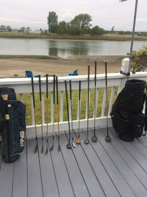 Golf bags and clubs for Sale in Winthrop, MA