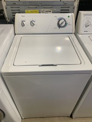 On Sale Whirlpool Washer Washing Machine Top Load 110v #1295 for Sale in Huntington, NY