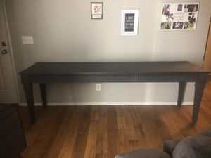 "Gorgeous Solid wood table 94""x24""x30""h for Sale in Fresno, CA"