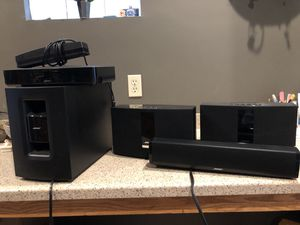 Bose Cinemate 120 and (2) Soundtouch 20 speakers for Sale in Cleveland, OH