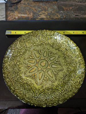 Decorative Glass Shallow Bowl for Sale in St. Louis, MO