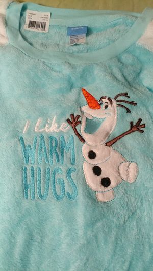 Disney's Frozen OLAF Girls's L 12 14 Large 2Piece Fleece Pajama Set Only 1 Left for Sale in Decatur, GA