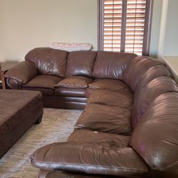 Creative Leather Sectional for Sale in Chandler,  AZ