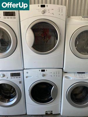 GE Front Load Washer Electric Dryer Set Stackable #1268 for Sale in Sanford, FL