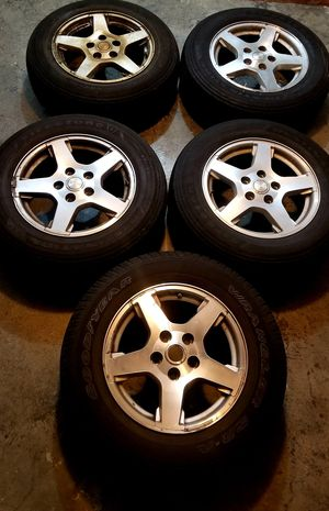 Jeep Wheels/Rims 17 Inch OEM + Spare for Sale in Kent, WA
