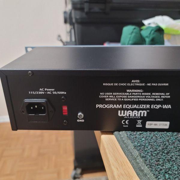 Warm Audio Eqp-wa Pultec Style Tube eq
