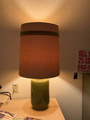 Vintage mid century modern ceramic lamp for Sale in Los Angeles, CA
