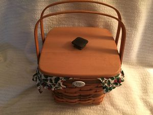 Longaberger hand made basket for Sale in Zephyrhills, FL