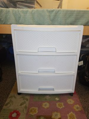 White 3 drawer storage for Sale in Portland, OR