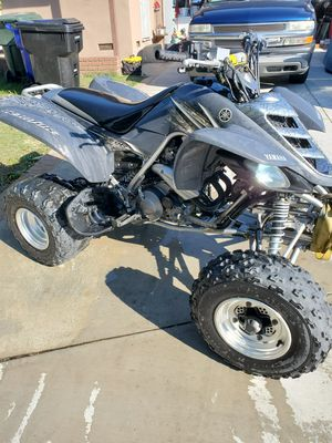 💥2005 Yamaha Raptor 660 Special Edition (💢) Brand new clutch plates, (💢)Fresh oil and (💢) Oil filter, and Air filter New Pro Taper bars Ha for Sale in Montclair, CA