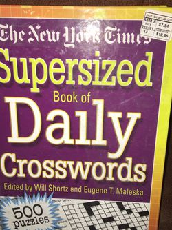 New Supersized Hardcover Book Of Daily Crosswords for Sale in Henderson,  NV