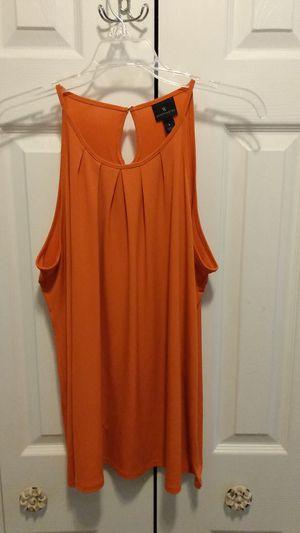 Worthington orange dressy tank size Large for Sale in Orlando, FL