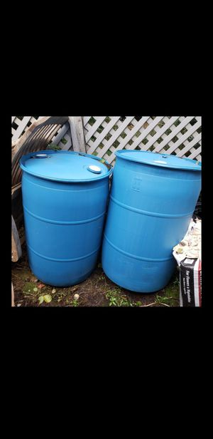 2 RAIN BARRELS for Sale in Redmond, WA