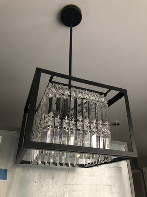 Square Crystal Chandelier for Sale in Washington, DC
