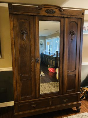 Antique armoire for Sale in Gig Harbor, WA