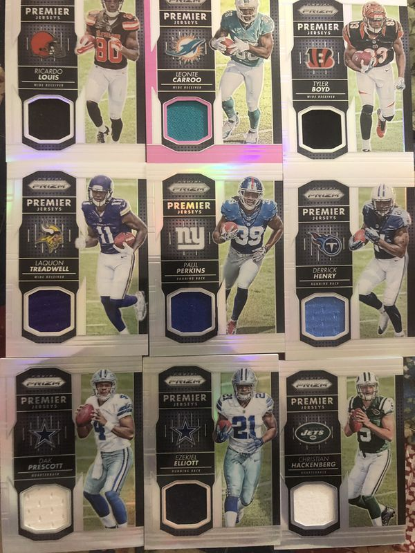 Auto Jersey Numbered Rookie Sports card lot