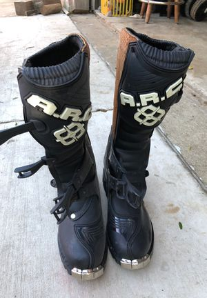 A.R.C motorcycle boots/gear for Sale in Fort Worth, TX