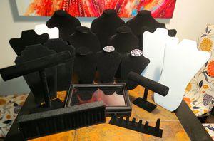 Jewelry Displays ( 21 pieces) for Sale in Hampton, VA