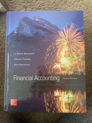 Book Financial Accounting 4th Edition for Sale in Santa Ana, CA