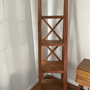 Acacia Wood Tall bookshelf for Sale in Anaheim, CA