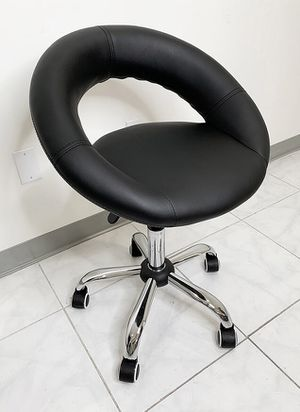 (New in box) $30 Round Stool w/ Back Rest Salon Medical Swivel Hydraulic Seat Chair Rolling Wheels for Sale in Whittier, CA