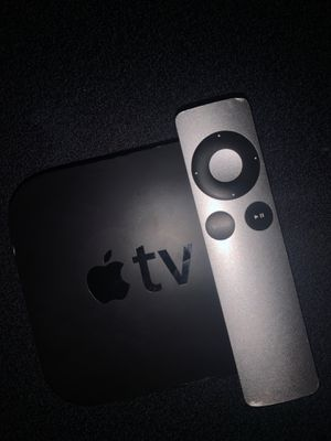 Apple TV 3rd Gen works perfect need wall plug 6.99 on amazon can bring one to test it for Sale in Seattle, WA