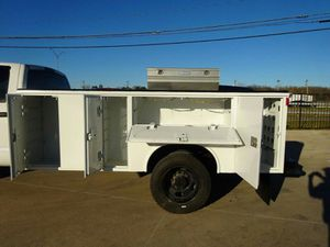 UTILITY BED 2005-2009 FORD F-350 F-450 F-550 12x8 READING UTILITY BED TOOL BOX for Sale in Dallas, TX