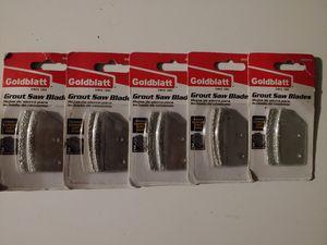 Grout saw blades (5pkgs. 10pcs) for Sale in Dallas, TX
