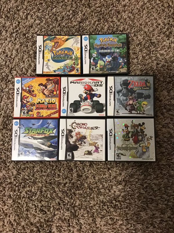 NDS Empty cases no games