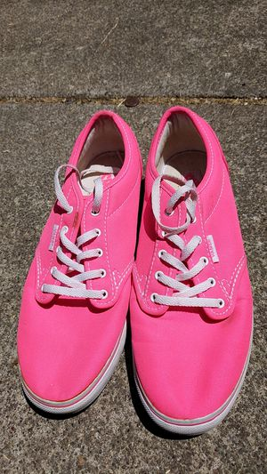 VANS HOT PINK 7.5 WOMANS for Sale in San Jose, CA