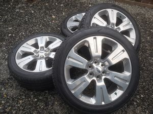 ford platinum oem wheels and tires 22 for Sale in Renton, WA