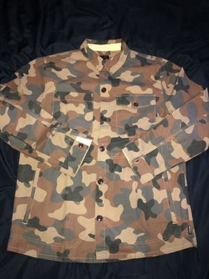 Camo Barbour shirt jacket XL for Sale in Brooklyn, NY