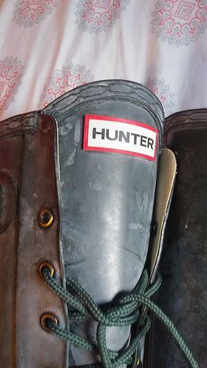 High Heeled Hunter Brand Rain Boots for Sale in Lynnwood, WA
