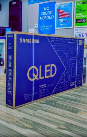 Samsung 75 inch Class - QLED Q80T Series - 4K UHD TV - Smart - LED - with HDR! for Sale in Seattle, WA