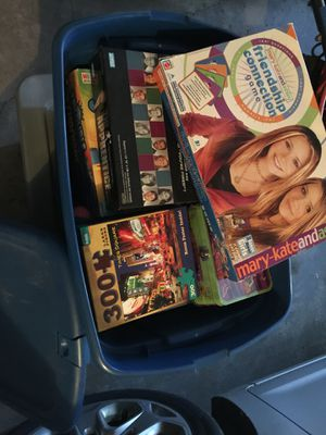 Box of Games and Puzzles for Sale in Canonsburg, PA